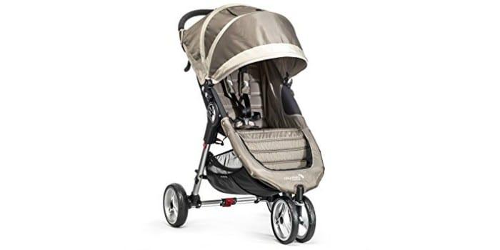 Трехколесная детская прогулочная коляска Baby Jogger City Mini Single