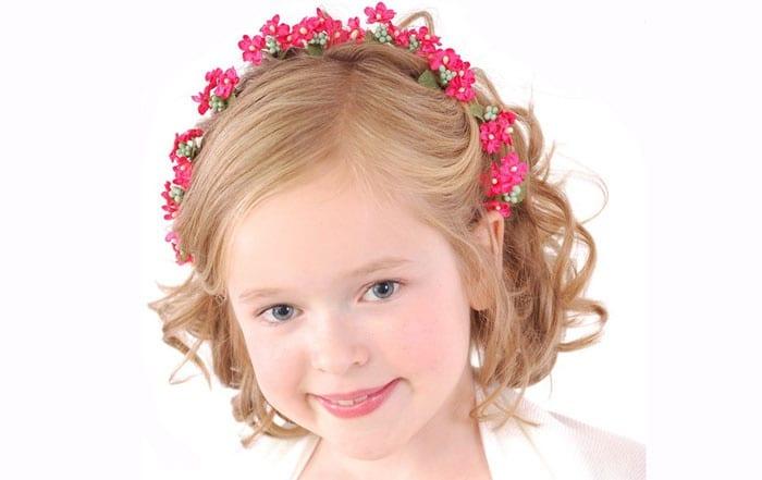 Очаровательная головка маленькой принцессы