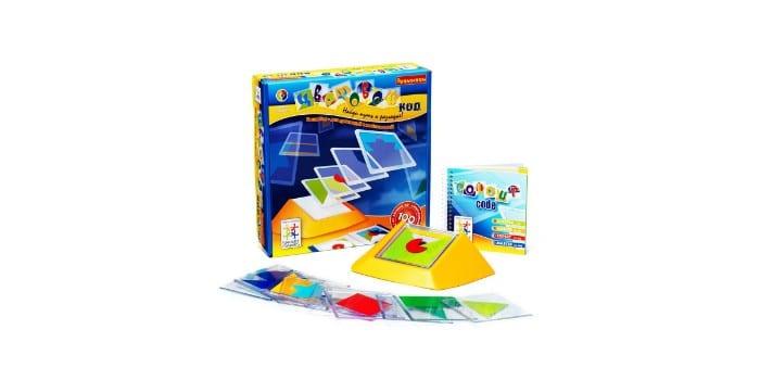 Развивающая детская настольная игра Цветовой код