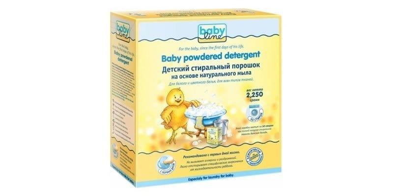Baby Powdered Detergent на основе натурального мыла