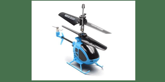 Небольшой радиоуправляемый вертолет на батарейках S6 3CH Nano 2.4G - SYMA-S6