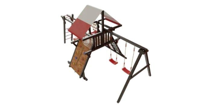 Детский игровой комплекс из дерева Таити