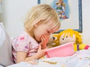 Что делать при рвоте у ребенка