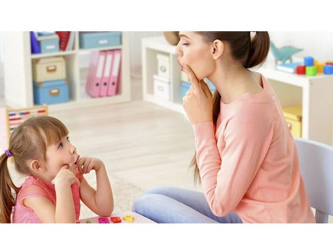Логопедические занятия с ребенком дома