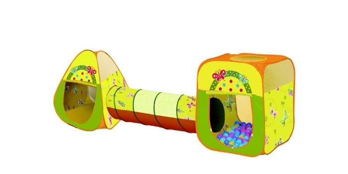 Детский игровой комплекс с тоннелем Ching-Ching Бабочки СВН-23