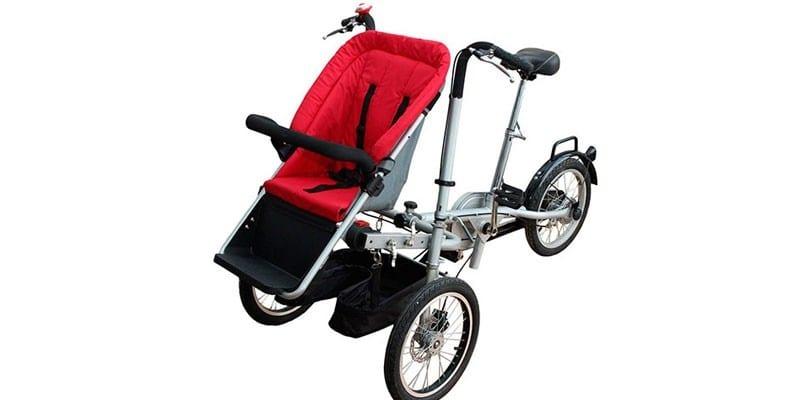 Велоколяска Taga Electro MYC-04