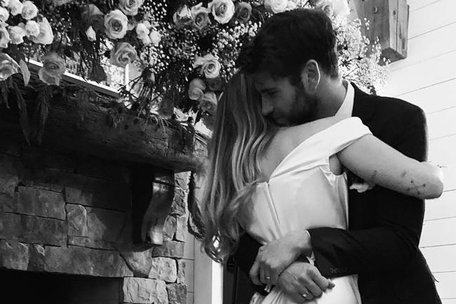 Свадьба Майли Сайрус и Лиама Хесворта