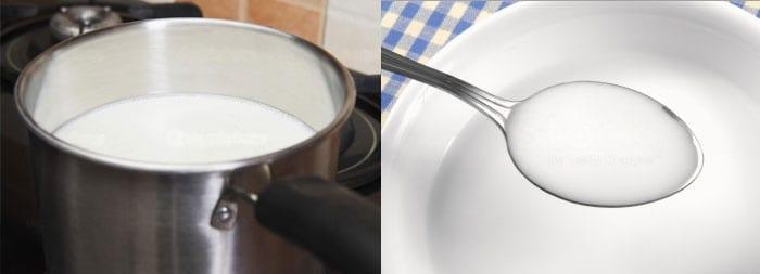 Кипячение молочных продуктов