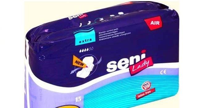 Упаковка послеродовые прокладок Seni Lady