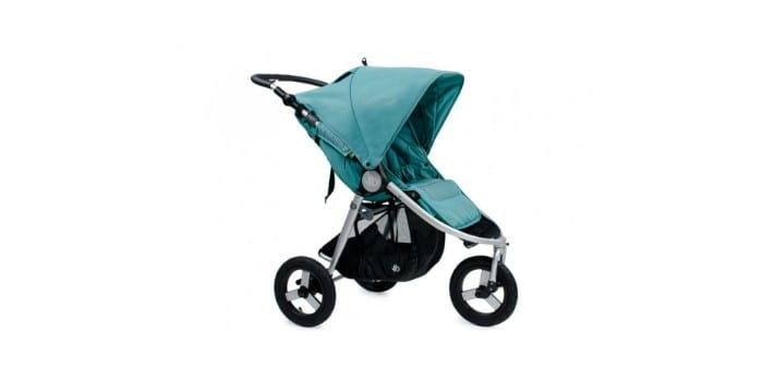 Детская трехколесная коляска с надувными колесами Bumbleride Indie