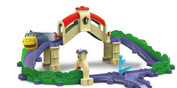 Железная дорога для детей до трех лет Chuggington Мост и туннель