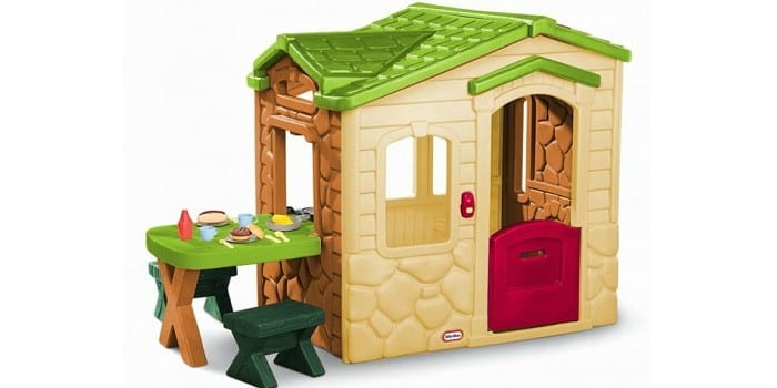 Игровой домик со столиком Зеленый от Little Tikes