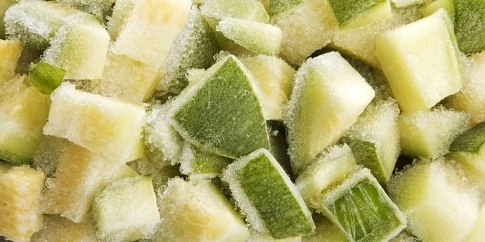Замороженные цукини