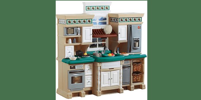 Игрушечный кухонный гарнитур в классическом стиле Step2 LifeStyle Deluxe Kitchen