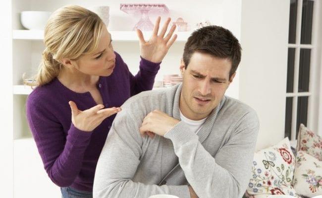 Враждебный настрой супругов друг к другу