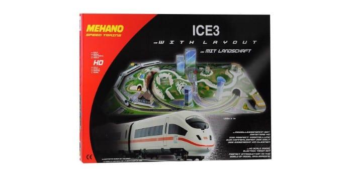 Набор железной дороги Mehano Ice-3