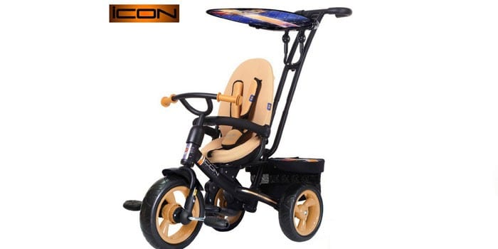 Велосипед-коляска RT ICON evoque NEW Stroller by Natali Prigaro EVA gold