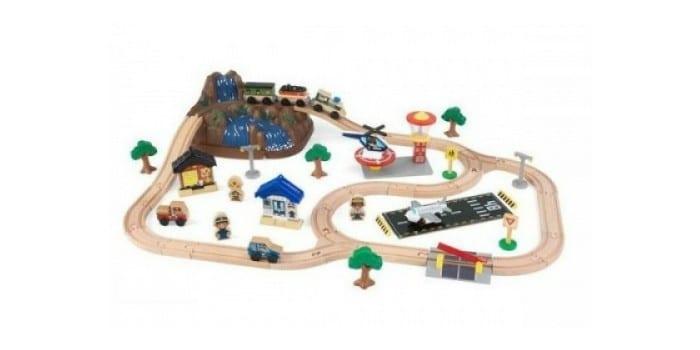 Большой набор железной дороги Top Train Горная дорога