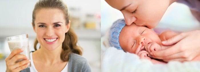 Первый месяц – ответственный в питании кормящей матери