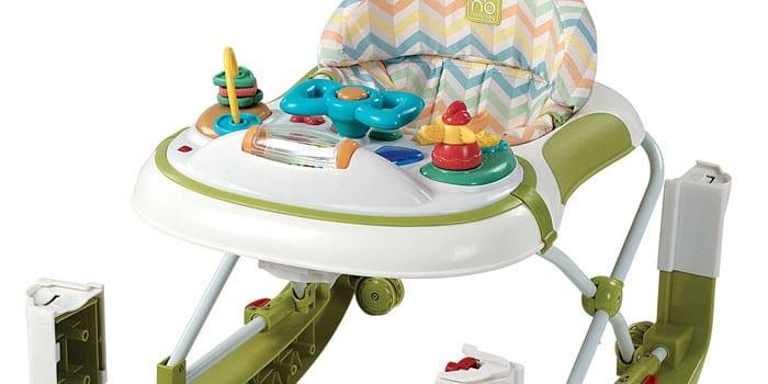 Ходунки-трансформер с креслом и развивающим столиком  Happy Baby Robin