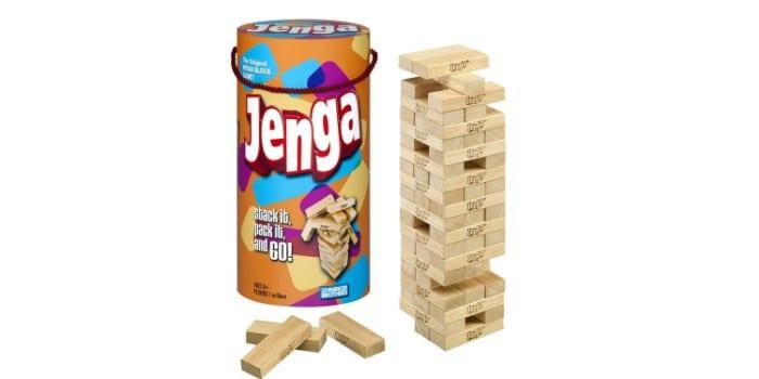 Настольная игра для взрослых и детей Дженга