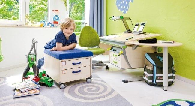 Стол-рансформер для детей со стулом