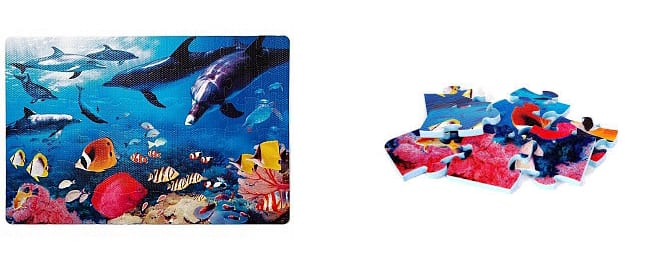 Коврик Lee Chuyn с дельфинами