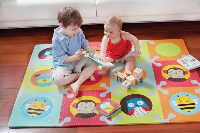 Применение коврика-пазла дома