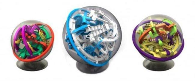 Разновидности шаров-головоломок