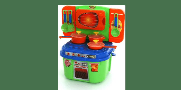 Пластиковая игрушечная кухня Полесье Кухня