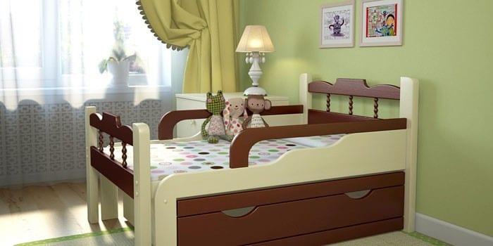 Кроватка Я Расту №3