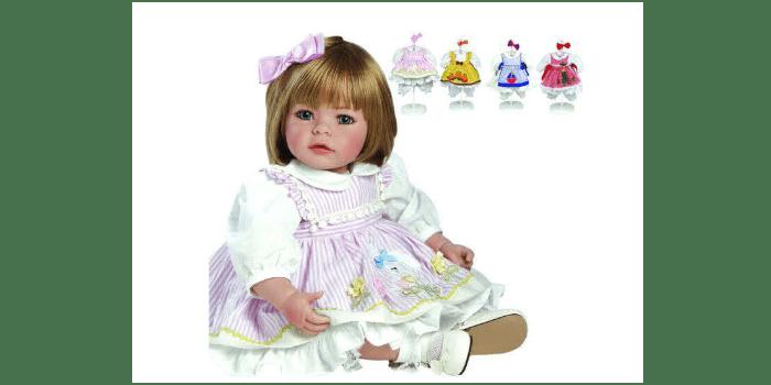 Коллекционная кукла с разными нарядами Adora inc, 4 сезона, 20926 _ md