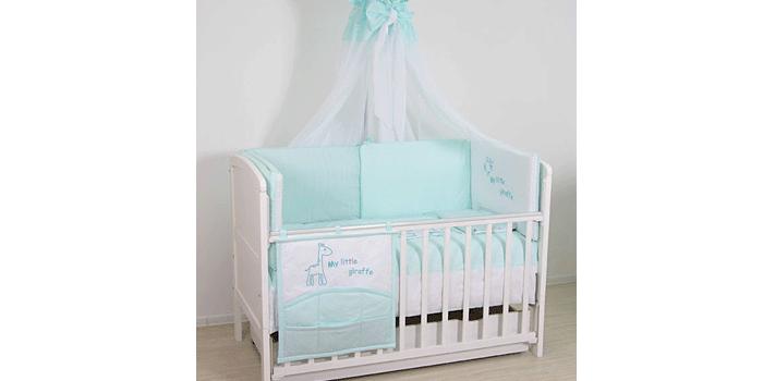 Комплект постельного детского белья с балдахином Fairy Сладкий сон