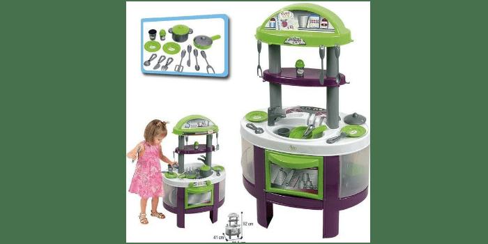 Игрушечная кухня с набором аксессуаров Palau Toys BABY GLO