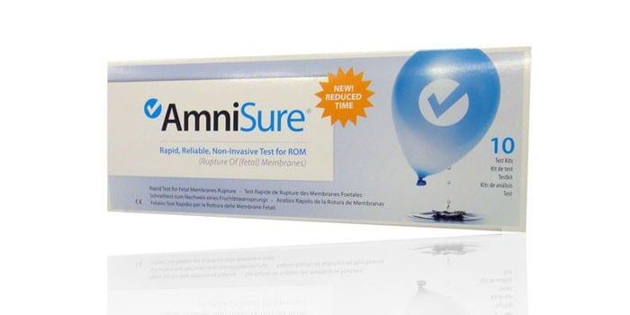 Тест AmniSure в упаковке