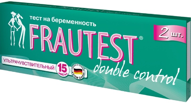 Стрип-тест Frautest Double control