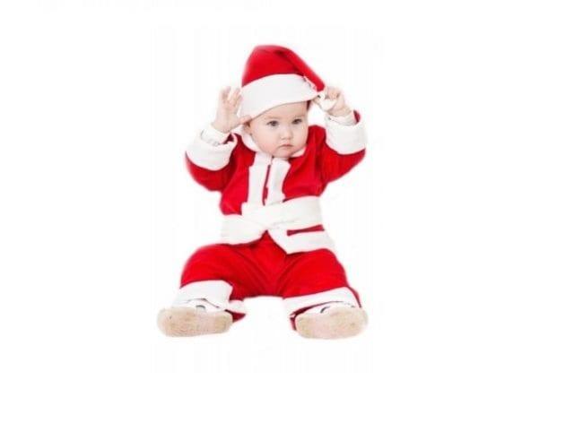 Наряд Деда Мороза для малыша
