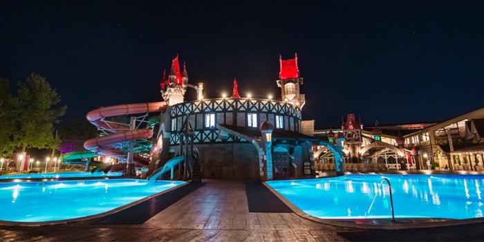 Аква-парк отеля Довиль