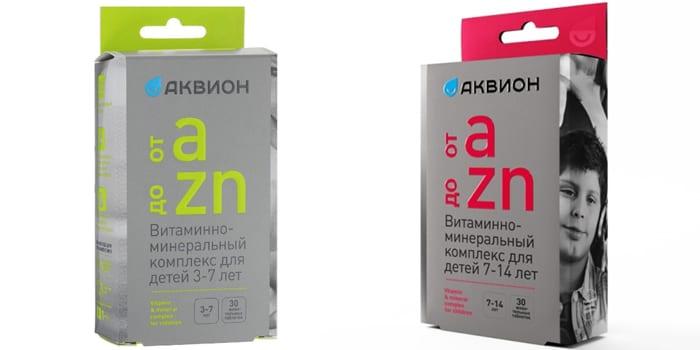 От А до Zn от Akvion