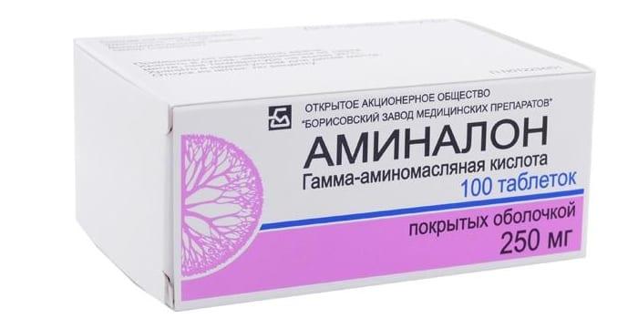 Препарат Аминалон