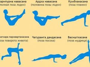 6 асан йоги для похудения живота, которые уберут жир