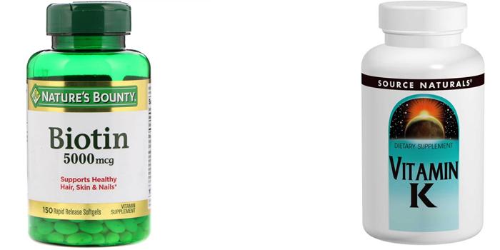 Биотин и витамин К