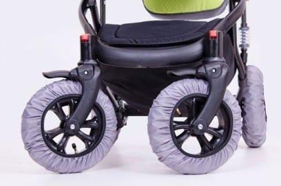 Чехлы на колеса для детской коляски для прогулки