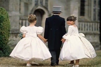 Присутствие детей на свадьбе