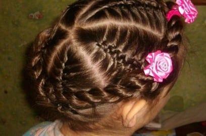 Красивые детские прически на короткие волосы для девочек