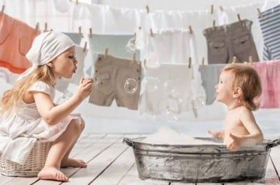 Детский порошок для новорожденных, лучший для стирки
