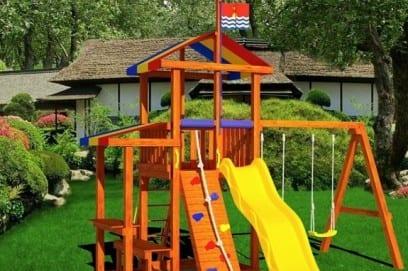 Детский спортивный комплекс для дачи на улицу