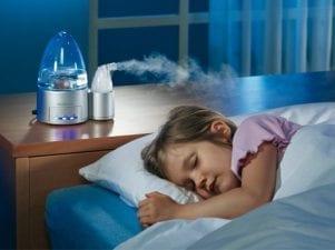 Увлажнитель воздуха для детей — обзор с описанием характеристик