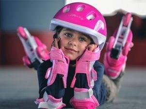 Детская защита для роликов — как выбрать для мальчика или девочки