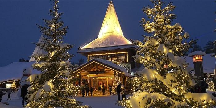 Дом Санта Клауса в Финляндии